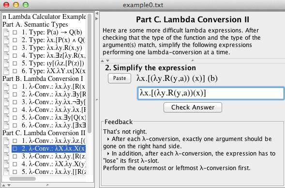 The Lambda Calculator